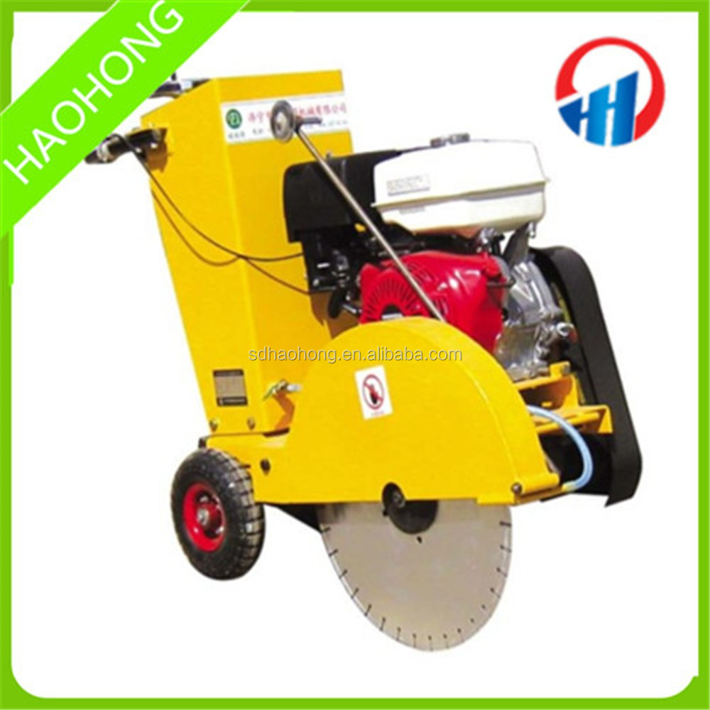 Road cutting machine / HH-500 concretion asphalt road saw cutter machine