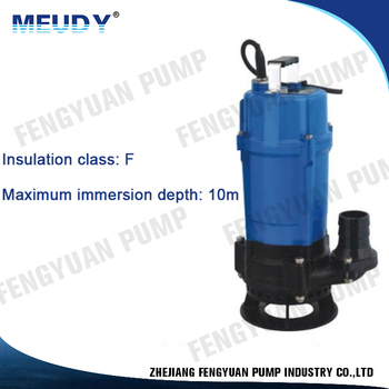 Design And Manufacture single phase sewage pump