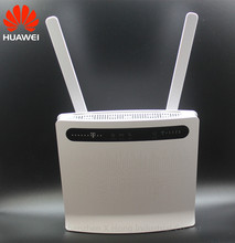Unlocked Huawei B593 B593u-12 B593s-12 100Mbps 4g lte cpe wireless wifi home router with RJ45 port