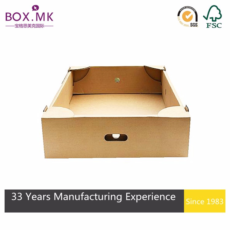 Corrugated Box For Fresh Fruit Packing Wholesale/Frozen Fruit/Banana box/Carton Fruit Packing Tray