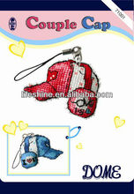 diy fashion design kit with a couple cap design for children gifts