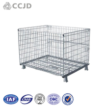 Metal warehouse nestable supermarket roll cages