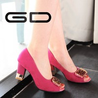 Girls latest high quality high heel sandals sexy high heel dress sandals
