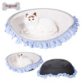 All season Oval Puppy Bed Cat Kitten Cave Washable Covers