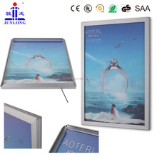 2014 New products Led Advertising picture frame JL-K round corner aluminum light box,Zhongshan Lighting