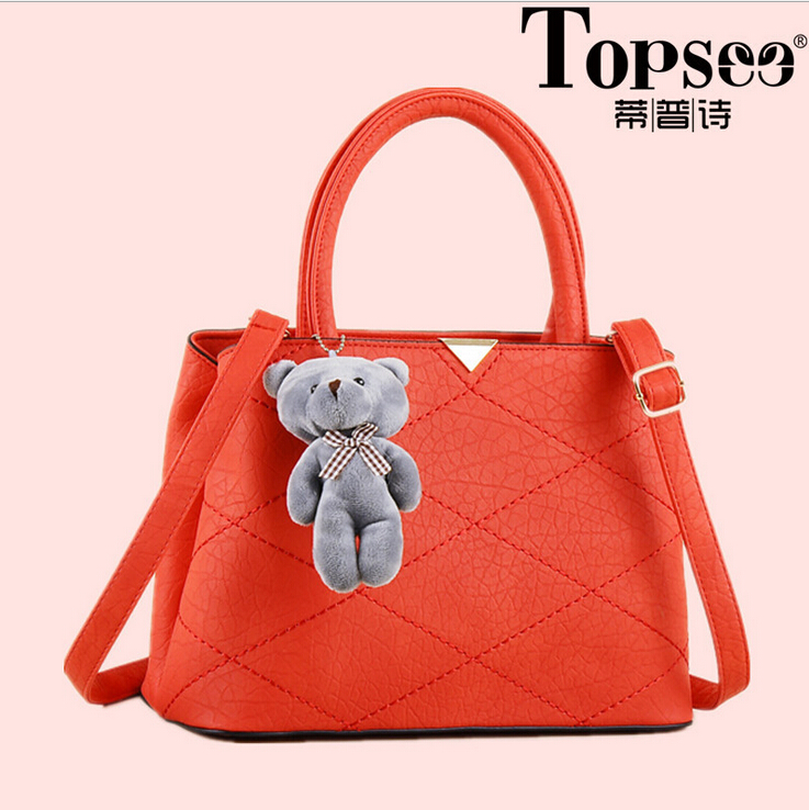 2016 Americal style The top quality producer of pu hand bag/fashion women shoulder hangbag