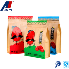 cheap kraft paper ground food plastic bag