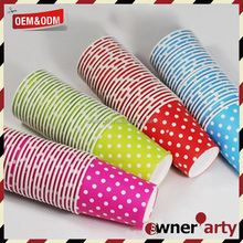Party kids Party series Polka dot paper cup