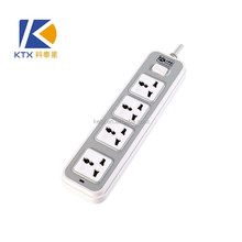 4 Gang Single Row Universal Power Extension Socket With Shutter