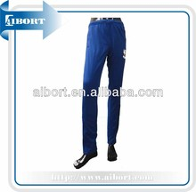 mens fashion sports polyester track long pants