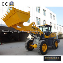 3 ton payload ZL36 China front end mini wheel loader of construction machinery for sale