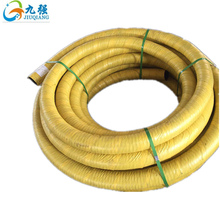 "8"" Flexible Steel Wire Reinforced anti-aging Rubber water Suction Hose"