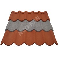 Nuoran galvanised metal aluminum zinc coated steel roofing tiles