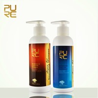 Italian professional hair shampoo PURC argan oil shampoo for nourishing hair