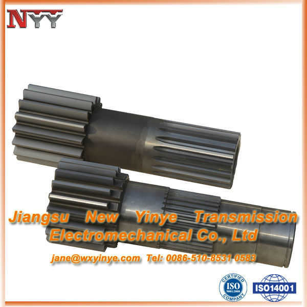 High hardness gear of Solar wheel axle and Spline rolling