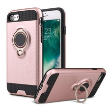 Armor phone case for iphone 7 cover, Ring holder phone case for iphone 7 plus