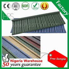 Heat resistant 0.45 mm thick galvanized steel sheet roof tiles light weight in India