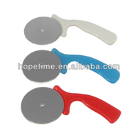 Promotional item stainless steel pizza cutter