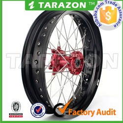 3.5*17 4.25*17 Motorcycle Wheel sets for supermoto bike