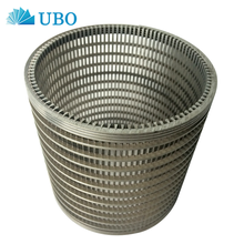 316L wedge wire water well screen pipe for water pump