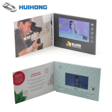 Customized Printing Business Advertising Gifts Video in Greeting Card