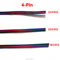 Tinned copper cable 22AWG, 5 pin RGB cable, PVC 22 awg wire