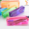 Fashion Plastic Stationery Pencil Bag Transparent