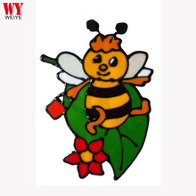 New Custom Lovely Bee Window Sticker Home Decoration for kids room