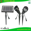 Solar Powered LED Spot Lamp with CE ROHS FCC