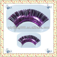 new style cheap colored eyelash extension