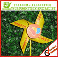 Promotional Logo Printed Plastic Windmill