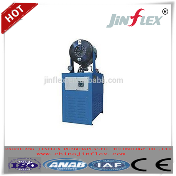 hydraulic hose fitting ferrule crimping machine