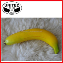 2015 hot sale home decor Tropical artificial fruit banana,artificial fruits