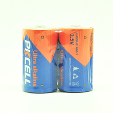 PKCELL lr20 1.5v d size primary dry cell battery am1 super alkaline batteries for Radio,Flashlight