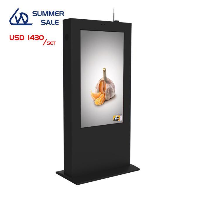 55 inch outdoor floor standing LCD screen TFT Digital Signage LCD Standing mall <strong>Advertising</strong>