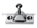 STAINLESS STEEL STAIN POLISHED FINISH HINGE SIDE MOUNTED CONSTRUCTION HARDWARE