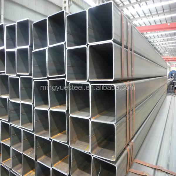 Q235 building material hollow section square steel pipe