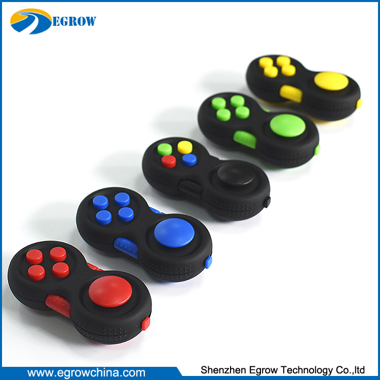 2017 Top Selling Spin Toys Version 2 Fidget Cube Fidget Pad of Game Controllers Magic Desk Toy Fidget Pad