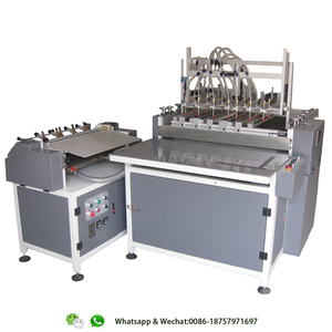 HL-M500A Semi-Automatic hard cover book making machine/book cover maker/hardcover book case maker