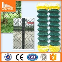 China direct factory wholesale chain link fencing/ chain wire fencing gate/ decorative chain link fence