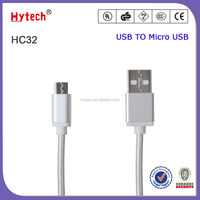 OEM 1M Fabric braided USB data charger cable for iphone5 5S 6 6s 6Plus Nylon Cord