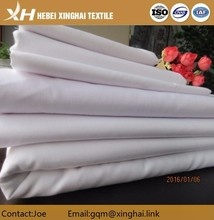 Polyester Cotton windowpane bleached fabric quilt comforter fabric