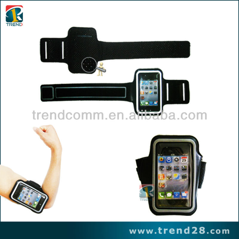 Neoprene sports armband case for iphone4