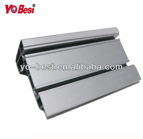 PVC profile extruded plastic parts for air conditioning