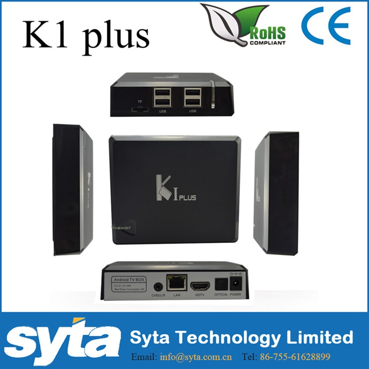Hot sale Metal 1G 8G smart tv box ott tv box m8 k200 firmware for Thailand India Indonesia <strong>K1</strong> Plus