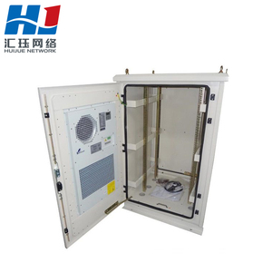 IP65/IP55 Good cooling air conditioner telecom equipment outdoor cabinet with emergency fan