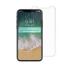 Wholesale Premium 2.5D 9H Anti Scratch Explosion-proof Tempered Glass Screen Protector For iPhone X