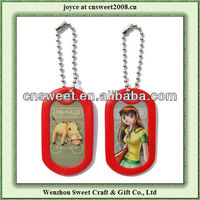 personalized dog tags for cat head die cut