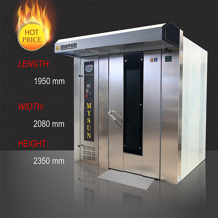 Industrial Gas Type Bread Baking Oven For Sale