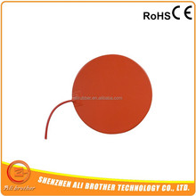 Round Silicone Heater Mat 24V